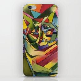 The Cubismo Cat iPhone Skin