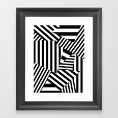 Razzle Dazzle I Framed Art Print