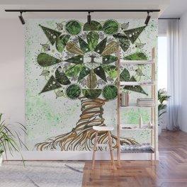 Tree of LIfe Mandala Wall Mural