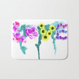 Floral Addiction Bath Mat