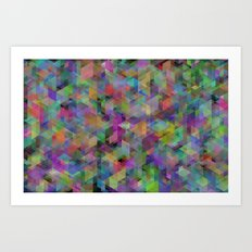 Panelscape - #11 society6 custom generation Art Print