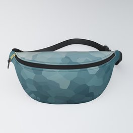 Ice Blue Mountains Moon Love Fanny Pack