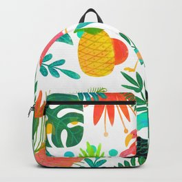Tropical Vibes Summer Pattern Backpack