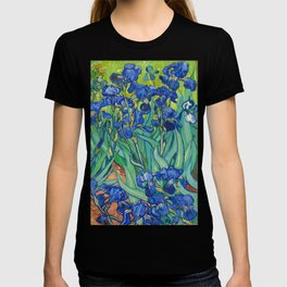 Vincent Van Gogh Irises Painting T-shirt