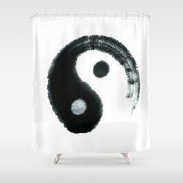 Ying & Yang Shower Curtain