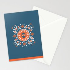 Blue Arrows Stationery Cards