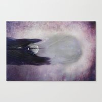 cosmic Canvas Prints featuring Cosmic  by KunstFabrik_StaticMovement Manu Jobst
