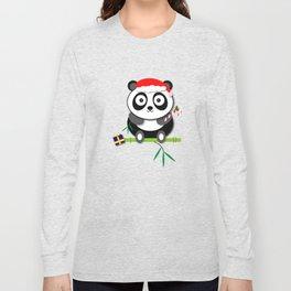 Holiday Panda Long Sleeve T-shirt