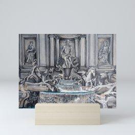 Fontana di Trevi Mini Art Print