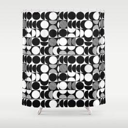 pattern motif 7 Shower Curtain