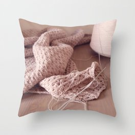 Cotton Pie Throw Pillow