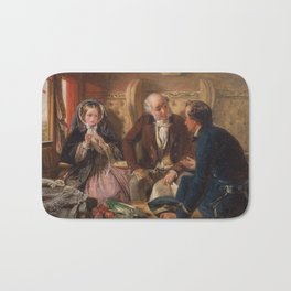 Abraham Solomon - And at first meeting loved (1855) Bath Mat