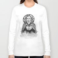 poe Long Sleeve T-shirts featuring POE by CincottaStore