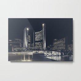 Toronto City Hall Metal Print