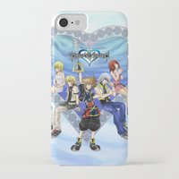 kingdom hearts iPhone & iPod Cases featuring Kingdom Hearts by clayscence