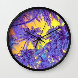 Polychrome Jungle Wall Clock