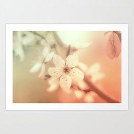 Flowering time fantasy Art Print