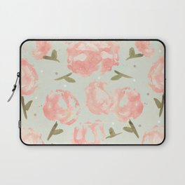 Syana's Cabbage Roses Laptop Sleeve