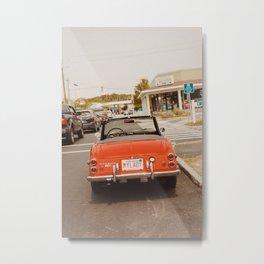 Vintage Car, Cape Cod Metal Print