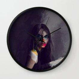Lady Meli-Melo Wall Clock