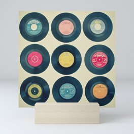 Vinyl Collection Mini Art Print