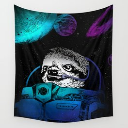 Astronaut Sloth 2 Wall Tapestry
