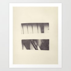 Monotype: Stairs Art Print