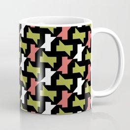Geometric Pattern 251 (pink green sharps) Coffee Mug