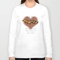 bacon Long Sleeve T-shirts featuring Bacon  by BrasaPanda