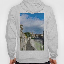 York City Roman wall and Minster Hoody