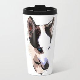 Husky Dog Travel Mug