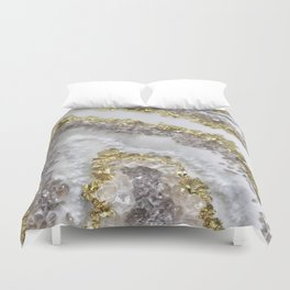 Geode Art Duvet Cover