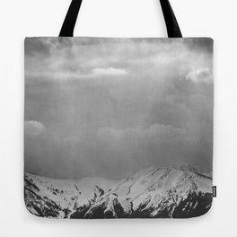 Mountain Landscape in the Rain Tote Bag