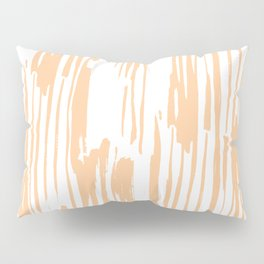 Modern Coral Stripes IV Pillow Sham