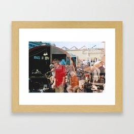 Smith - overlapper Framed Art Print