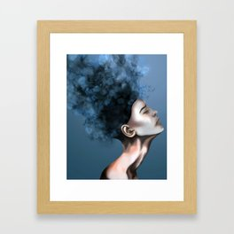 "OCD: ""Intrusive Thoughts"" Framed Art Print"