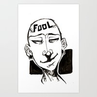 Fool  (Collection 01) Art Print