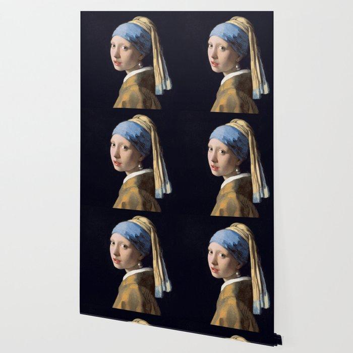 Girl With a Pearl Earring - Vermeer Wallpaper