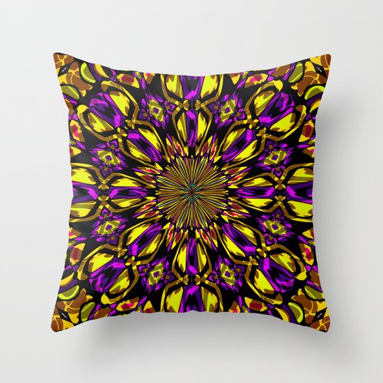 Color Fantasy N1  Throw Pillow