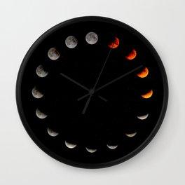 Moon Cycle Wall Clock