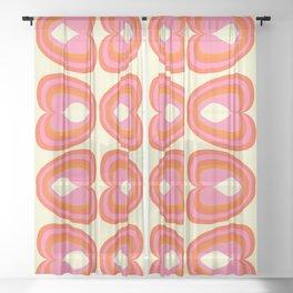 Psi Sixties Sheer Curtain