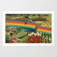 polaroid Art Prints featuring Polaroid by Blaz Rojs