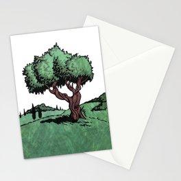 Mediterranean Olive Tree Stationery Cards