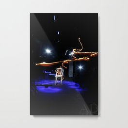 The dance of lights  Metal Print