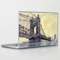 cincinnati Laptop & iPad Skins featuring Cincinnati by takmaj