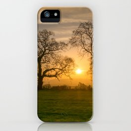 Winter Sunrise 3 iPhone Case