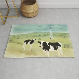 we all like burgers _ US AND THEM  Rug