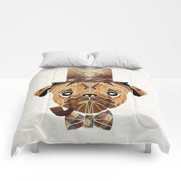 mister pug Comforters
