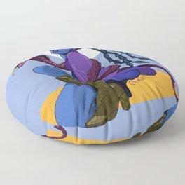 Cobra Queen Floor Pillow