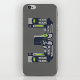 Seattle 3  iPhone Skin